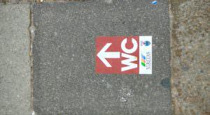 Kierunek: toalety w Wenecji