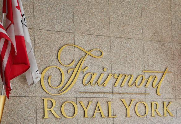Fairmont Royal Hotel w Toronto