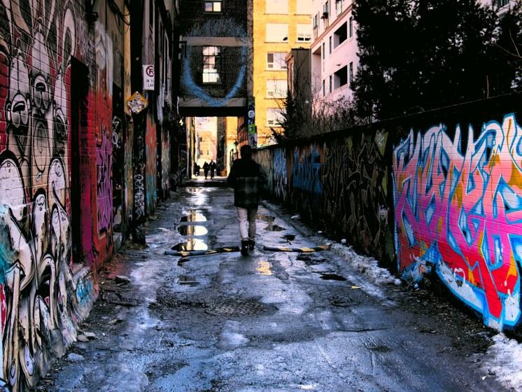 Mroczne alejki Graffiti Alley