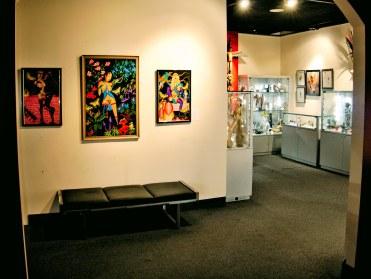 Sala w Muzeum Sztuki Erotycznej w Miami