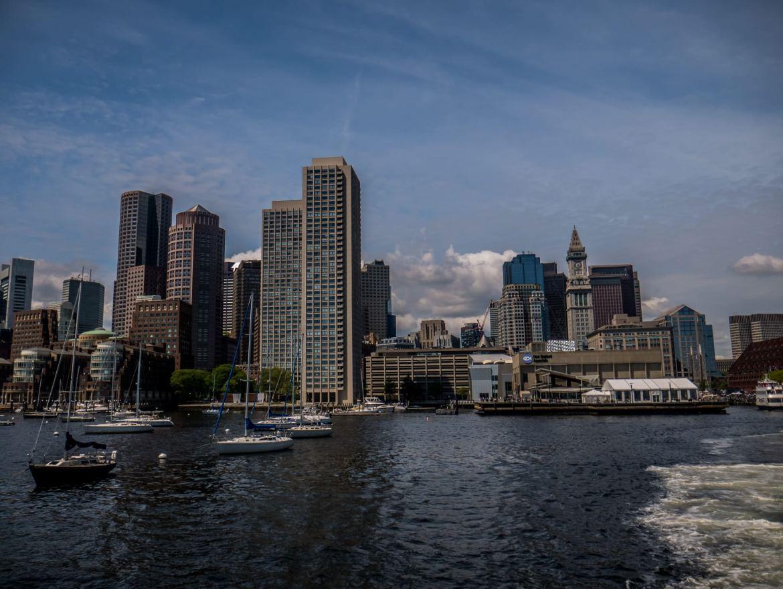 Boston - widok prosto ze statku