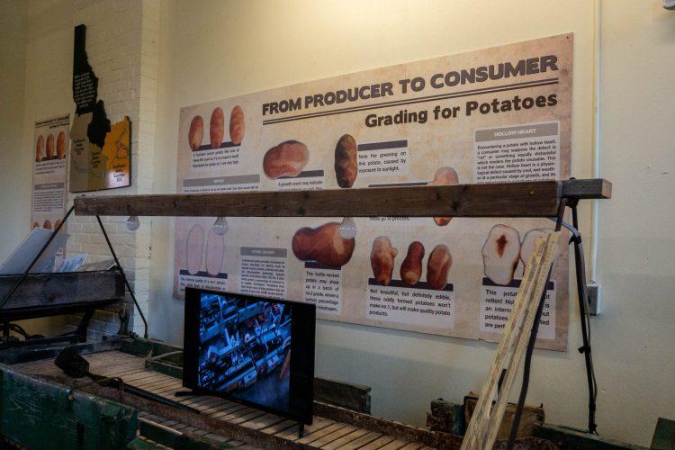 część interaktywna muzeum ziemniaków