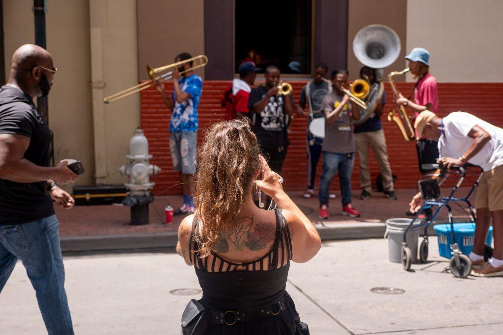 Artyści uliczni, Nowy Orlean