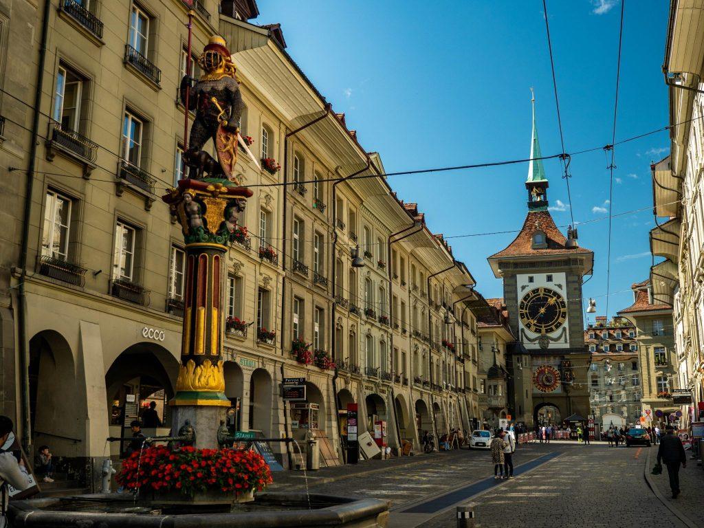 Berno - wieża zegarowa