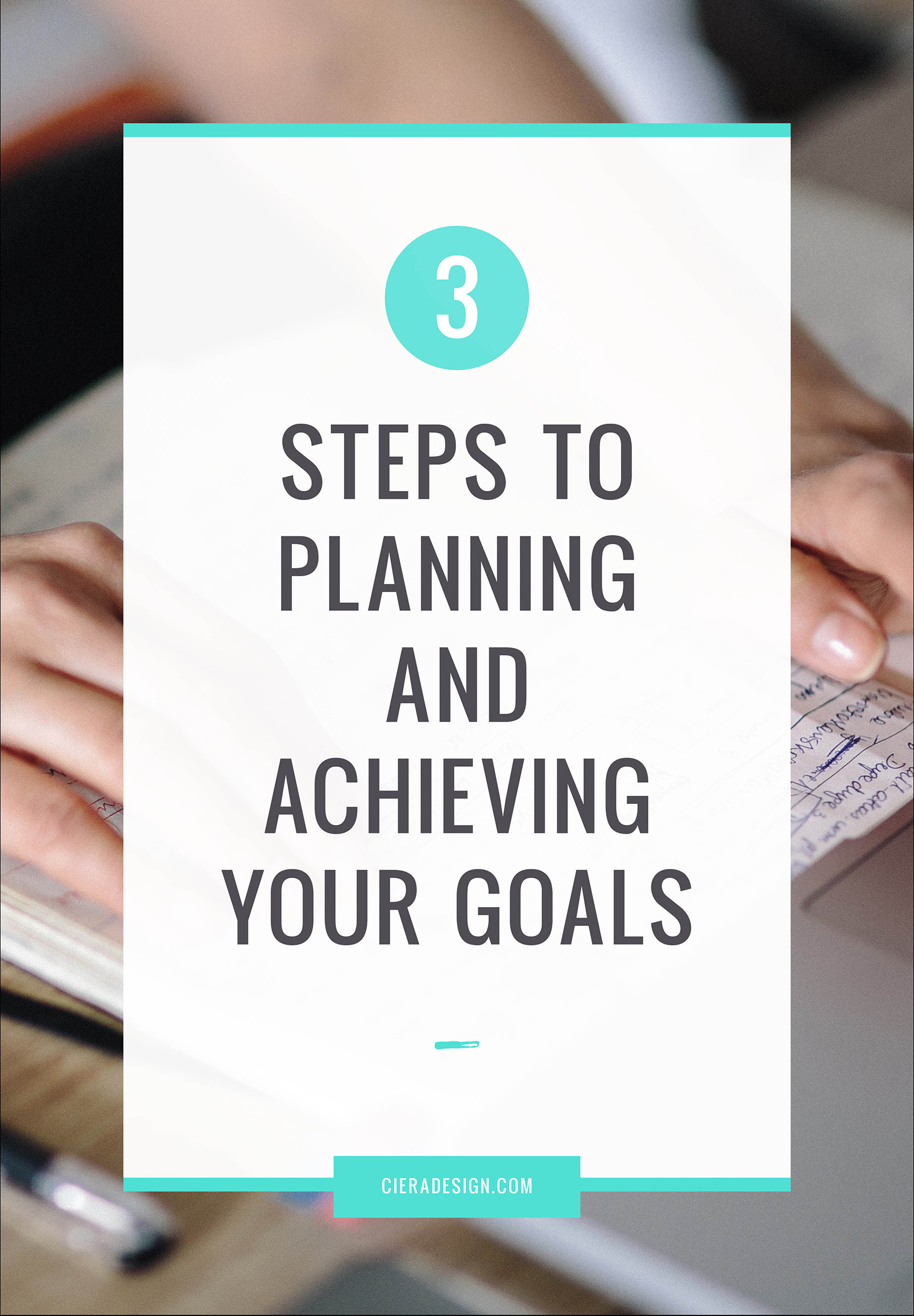 If you have ever felt the pain of a good goal gone bad, here is a three-step process you can follow to easily plan and accomplish virtually anything.