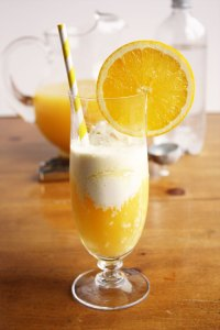 sparkling citrus float