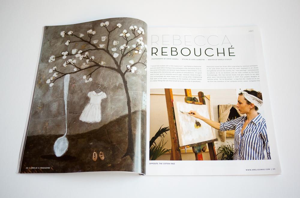 Amelie G Magazine Design 5