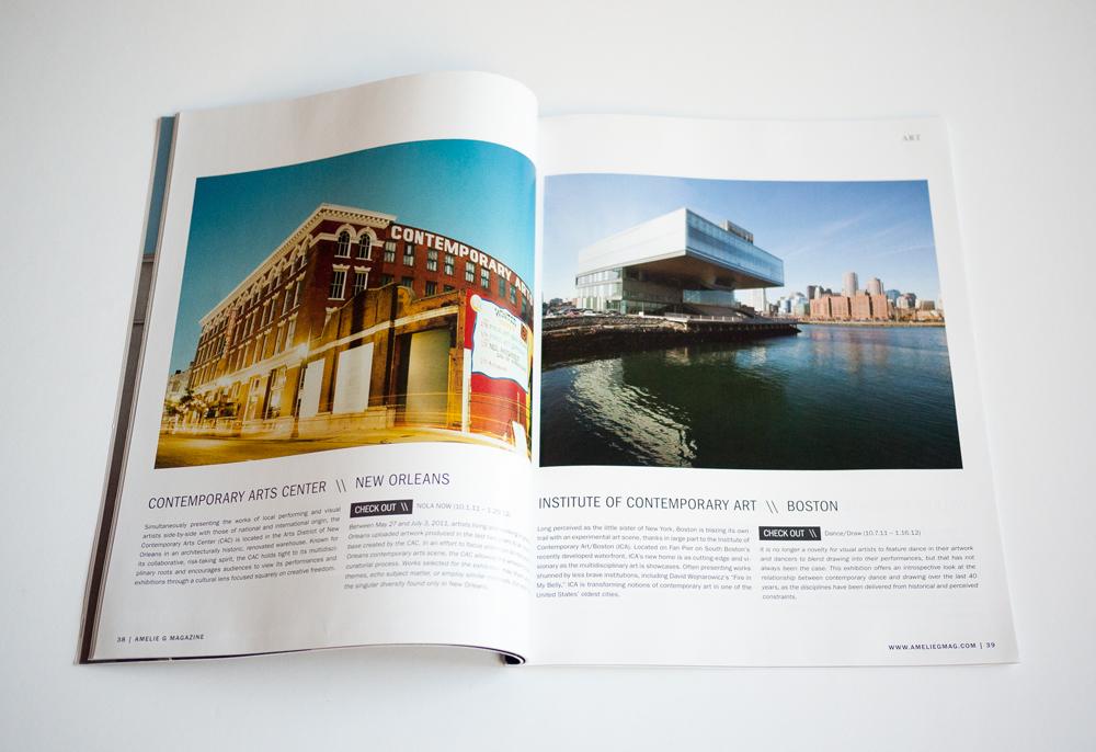 Amelie G Magazine Design 7