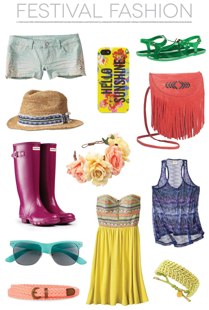 What to Wear Festival Fashion