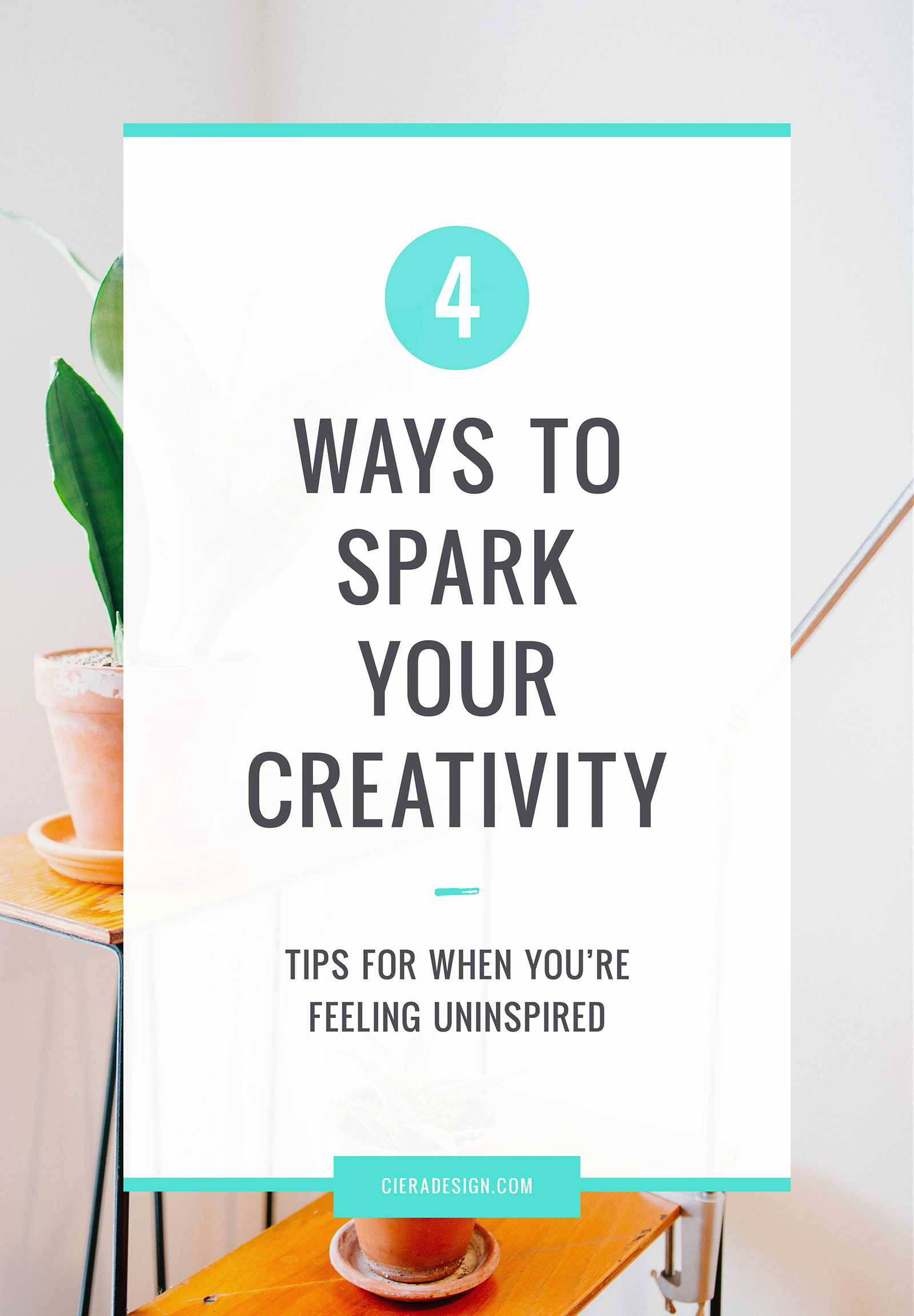 Four Ways to Spark Your Creativity and Get Re-inspired