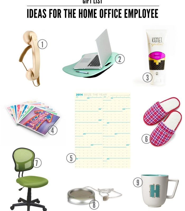 My Favorite Gift Ideas for the Home Office Employee