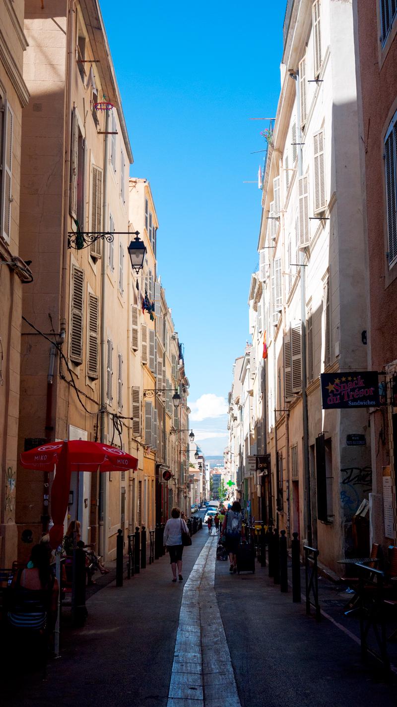 Street Scenes Marseille France Panier