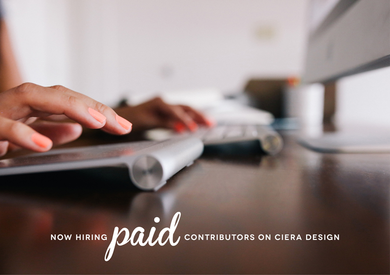 Paid Blogging Contributors Wanted