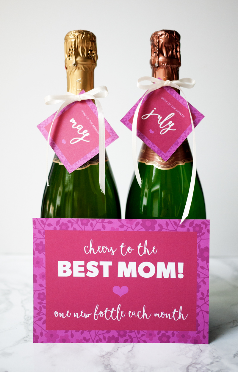 Champage and Cards for Mother'sDay