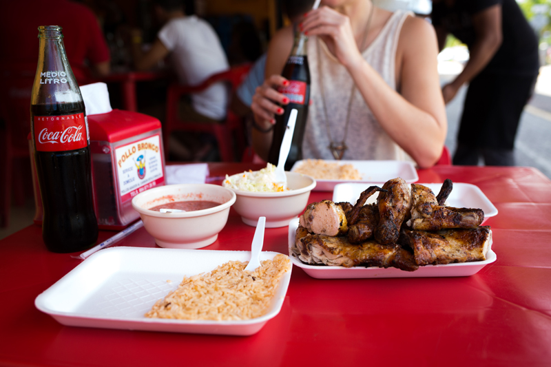 Pollo Bronco Chicken Tulum Mexico