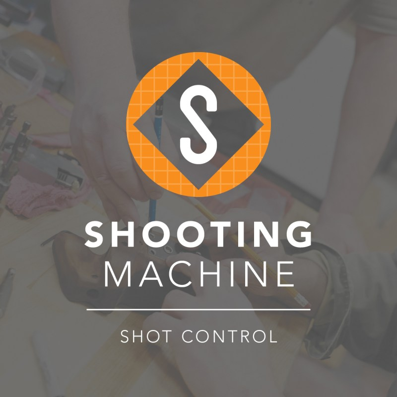 Shooting Machine Brand Identity & Collateral Design