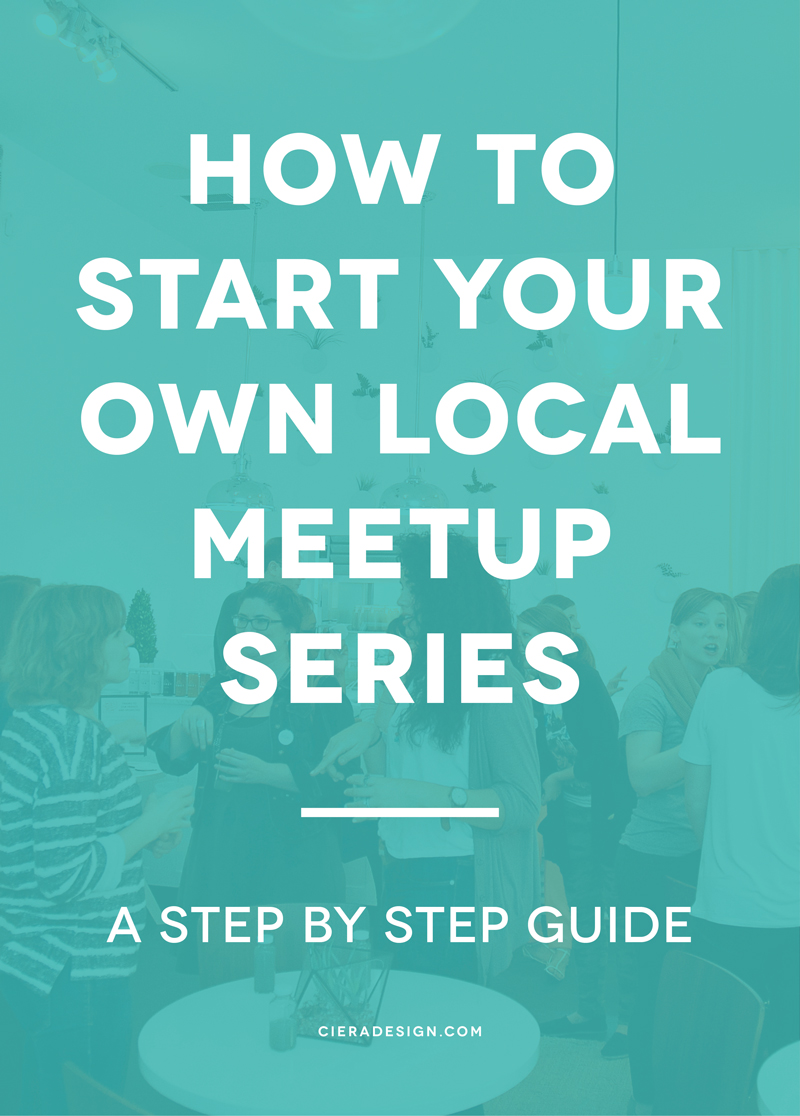 How To Start A Local Networking Event Series. Click through to download a free worksheet!