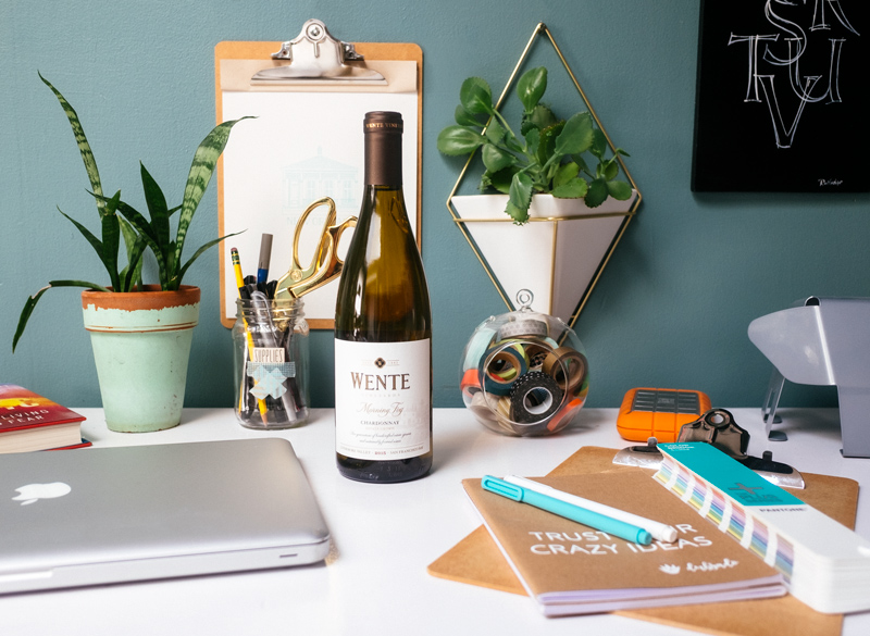 reward yourself when you hit certain goals. This could be as simple as a glass of wine as you wrap up your work day