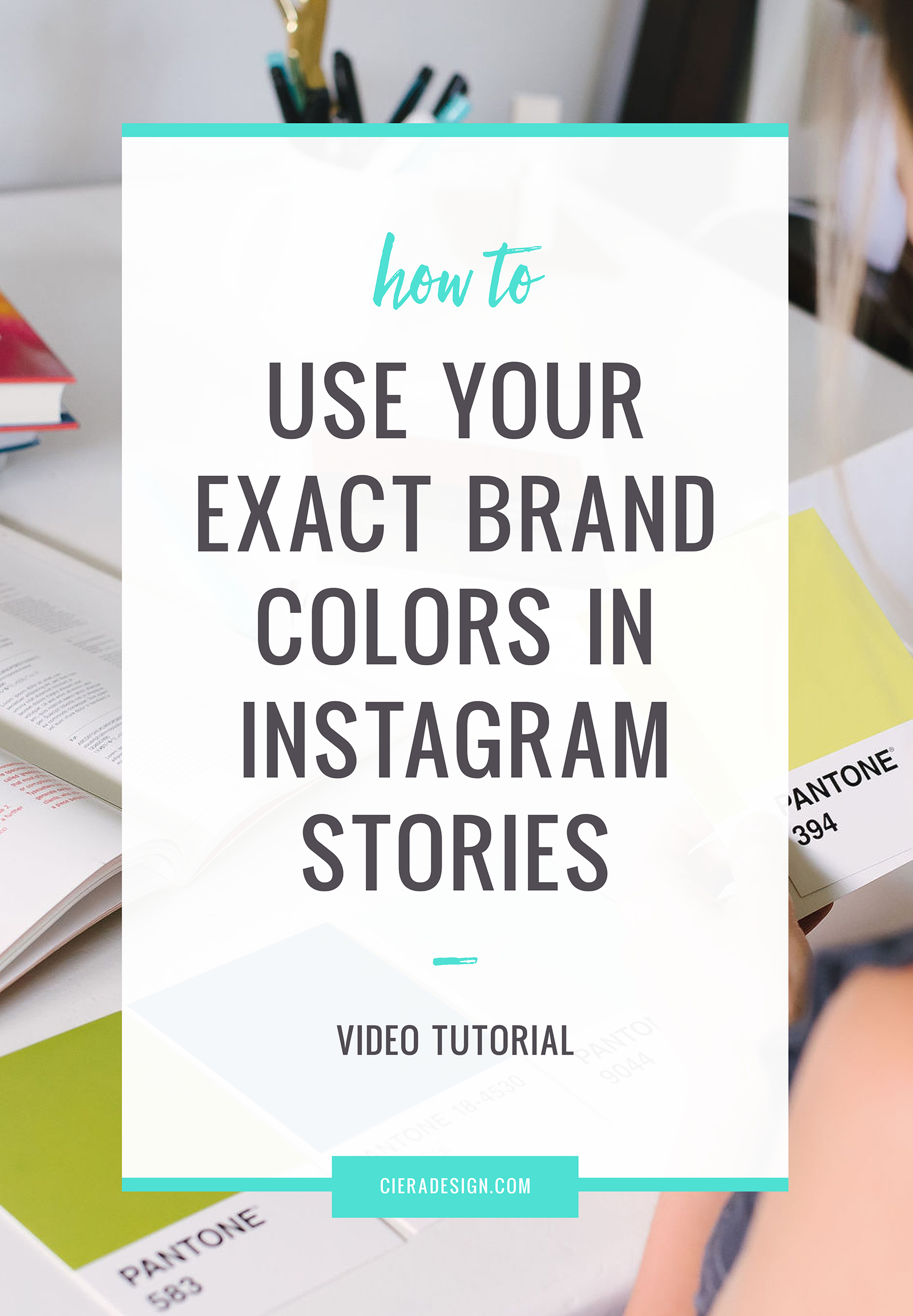 How and why to use your brand colors in Instagram stories. For starters... Research finds that color increases brand recognition by 80%.