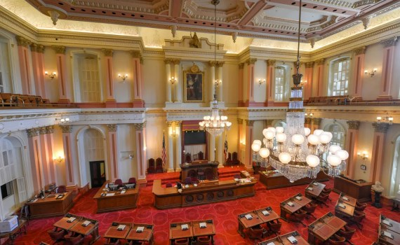 California Senate Chamber