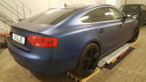 Audi A5 Sportback Seitenansicht Hinten