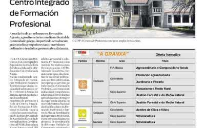 A Granxa no Xornal Escolar do Atlántico Diario