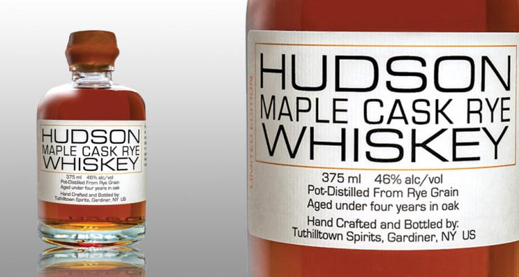 HUDSON WHISKEY: MAPLE CASK RYE