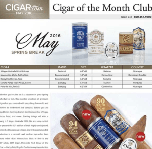 cigar.com newsletter