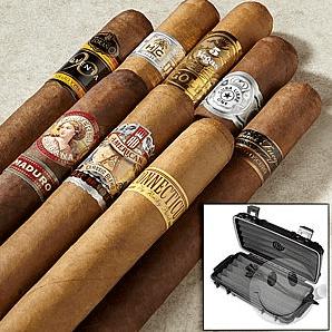 cigars and travel humidor