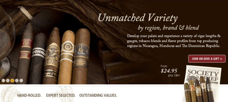 premium cigar of the month club review