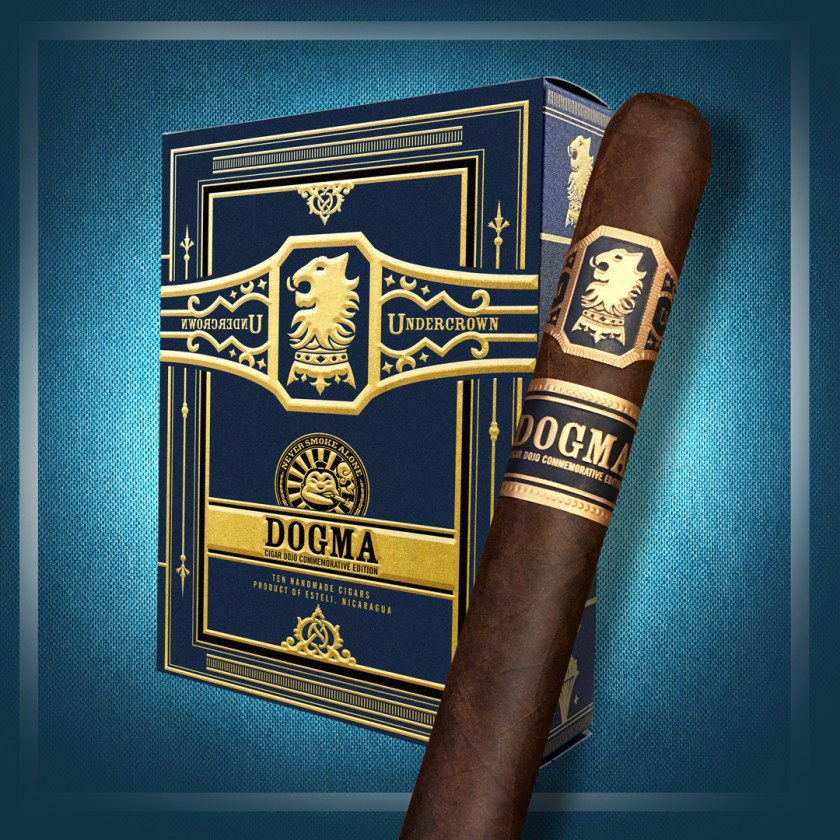Drew Estate Undercrown Dogma 2020 cigar packaging