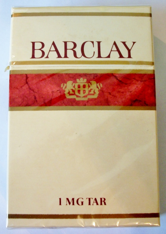 Barclay King Size - vintage Finnish Cigarette Pack