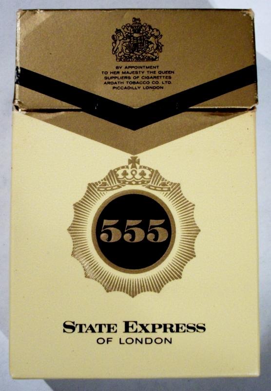 State Express 555 Filter Kings Vintage British