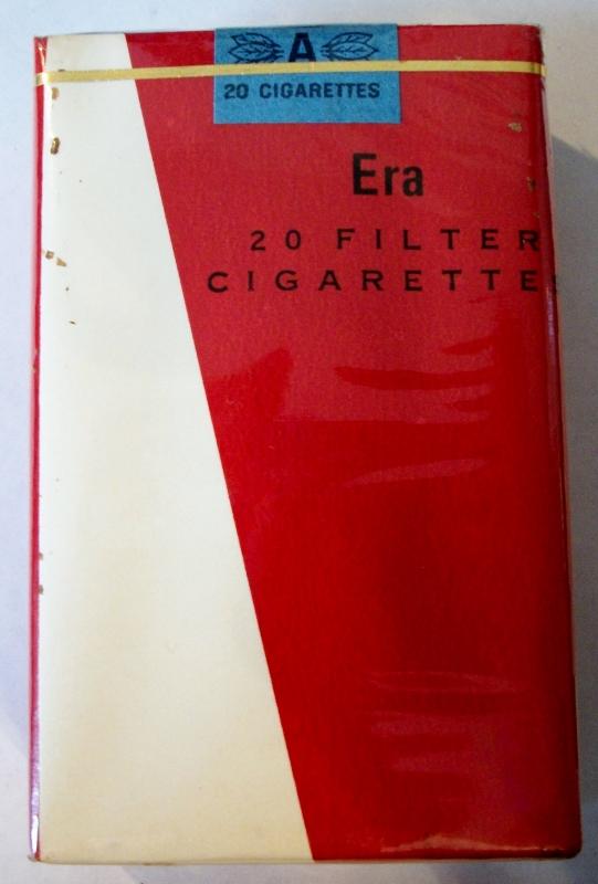 Era filter, king size - vintage Trademark Cigarette Pack