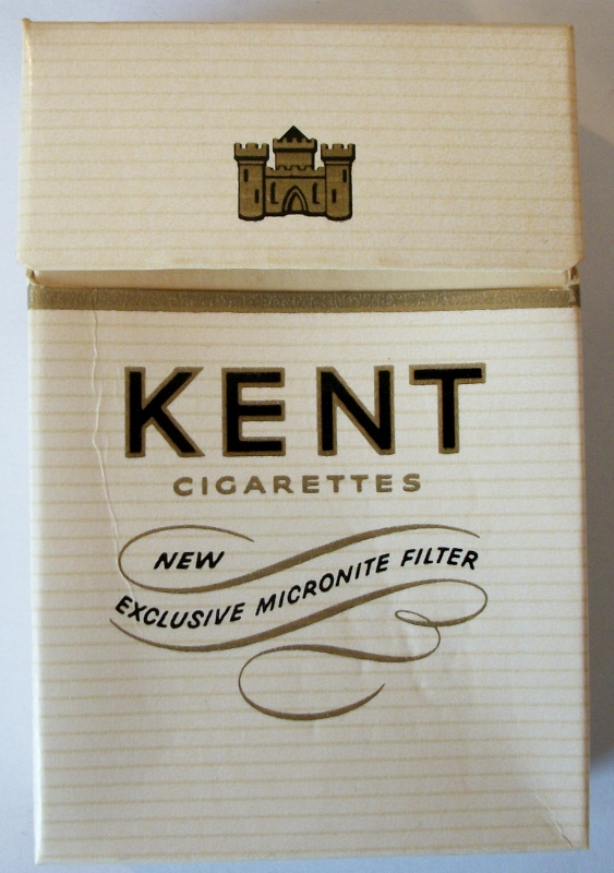 Kent with Exclusive Micronite Filter - vintage American Cigarette Pack