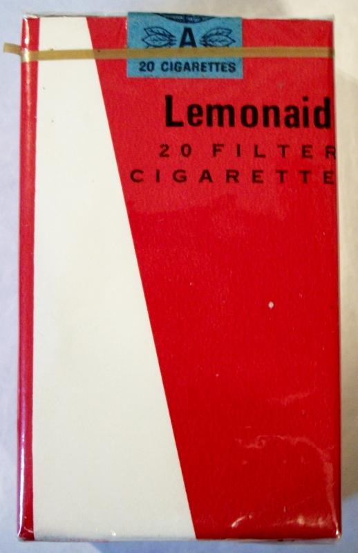 Lemonaid Filter King Size - vintage Trademark Cigarette Pack