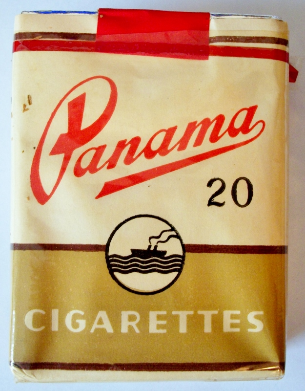 Panama 70mm - vintage Indian Cigarette Pack