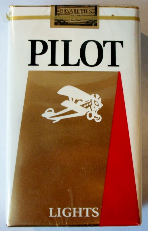 Pilot Lights King Size - vintage American Cigarette Pack