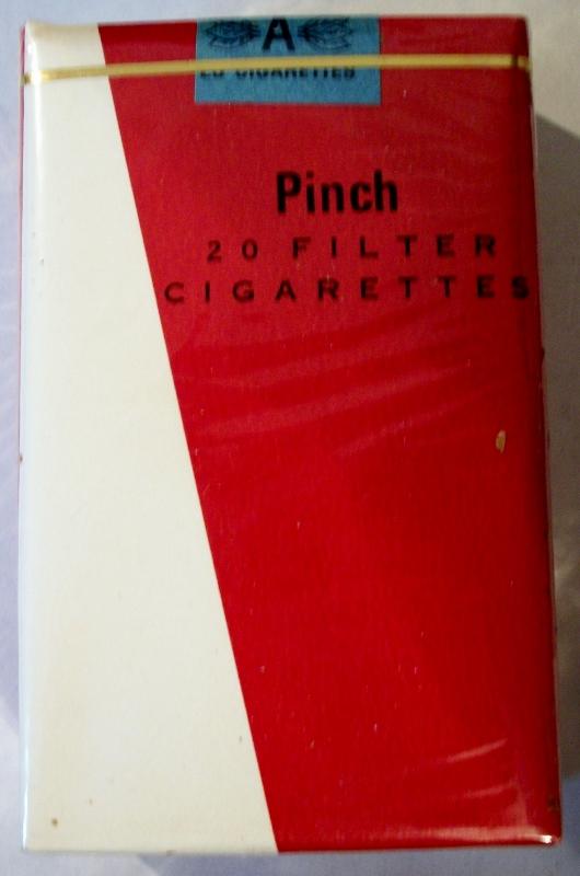 Pinch Filter, King Size - vintage Trademark Cigarette Pack