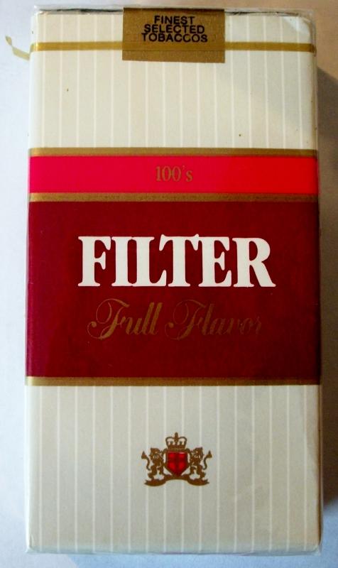 Liggett Filter Full Flavor 100's - vintage American Cigarette Pack