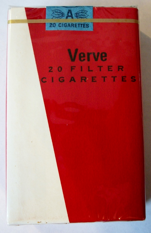 Verve, Filter King Size - vintage Trademark Cigarette Pack