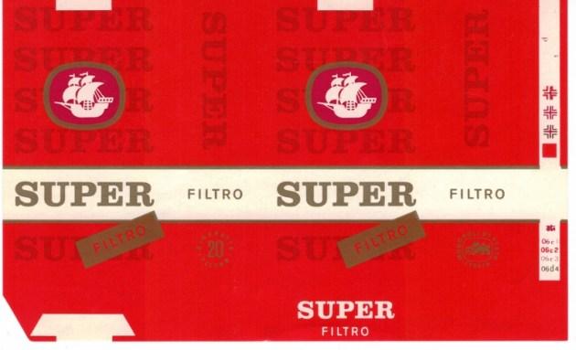 Super Filtro - vintage Italian Cigarette Pack