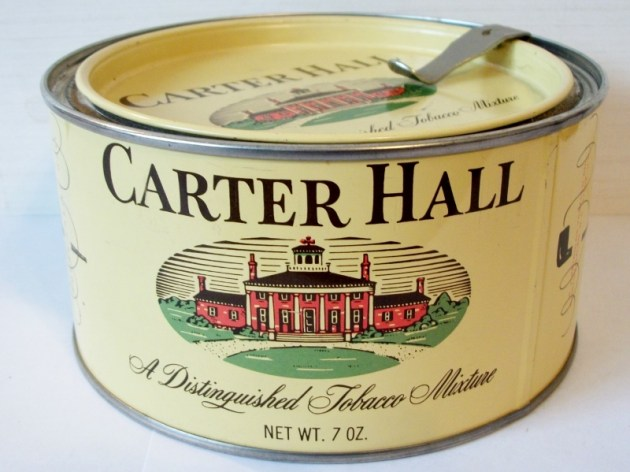 Carter Hall, A Distinguished Tobacco Mixture 7 oz. can