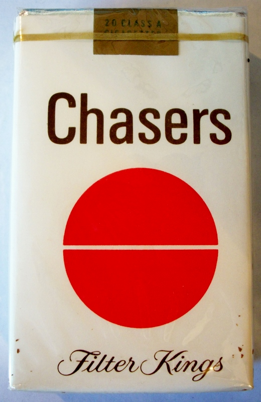 Chasers Filter Kings - vintage American Cigarette Pack