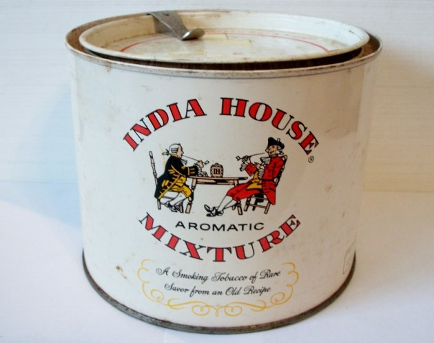 India House Aromatic Mixture, Smoking Tobacco Can