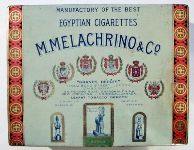 M. Melachrino & Co. No. 4 Egyptian Cigarettes 100