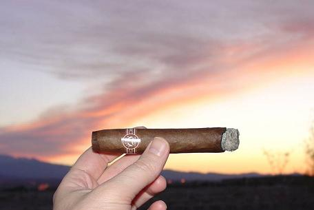 cigarfan wraps the day with a 6000 Natural as the California wildfires blaze
