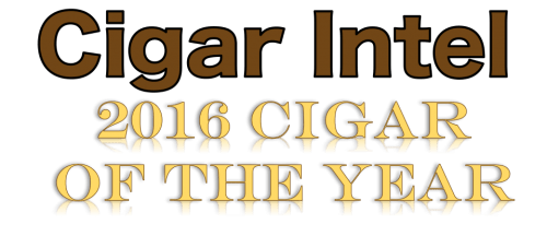 Cigar Intel 2016 Cigar of the Year