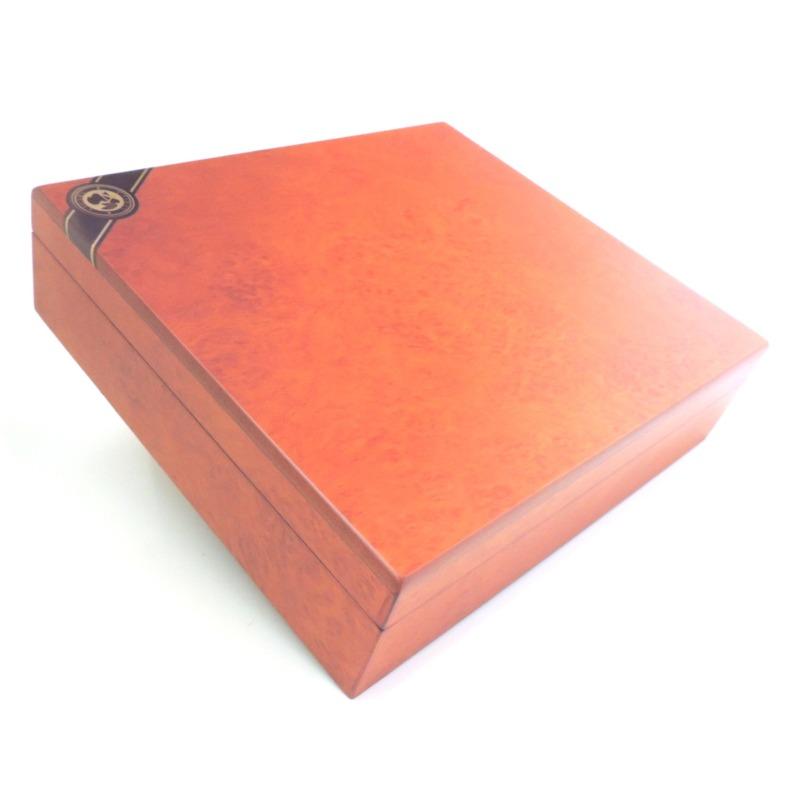 C4A - Brown Cigar Humidor