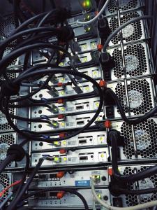 cigene cluster rack back